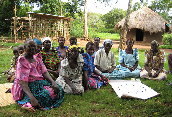 """One of the farmers' groups, """"Were Nyalo"""", discusses how the work load varies during a typical agricultural year and how the group helps to facilitate different activities."""