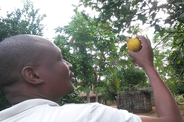 Lucas Tivana, researcher at the Eduardo Mondlane University in Maputo.