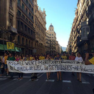 Activists in Barcelona
