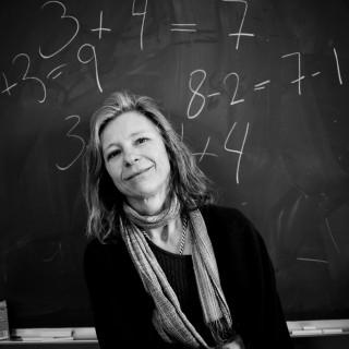 Agneta Gulz sees that digital learning aids benefit weaker pupils.